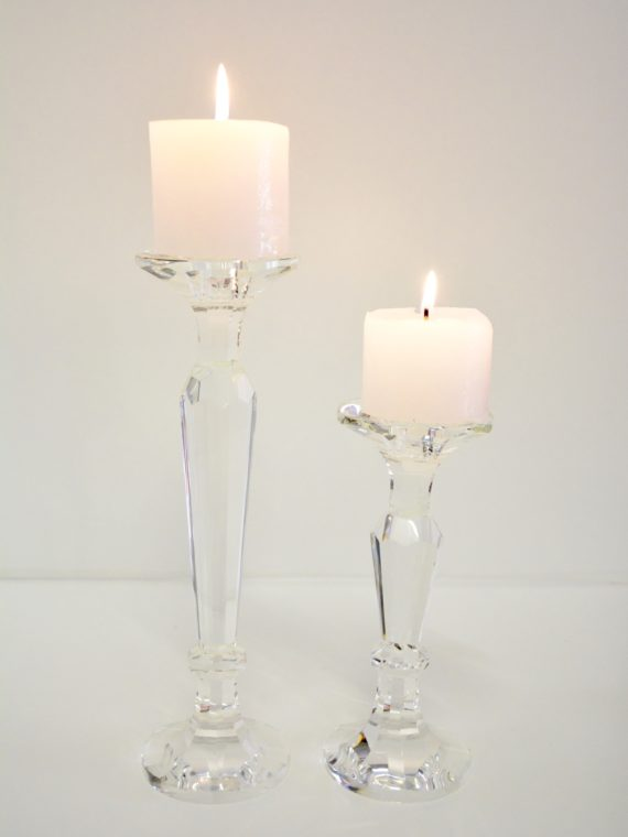 Crystal Candle Stick Small